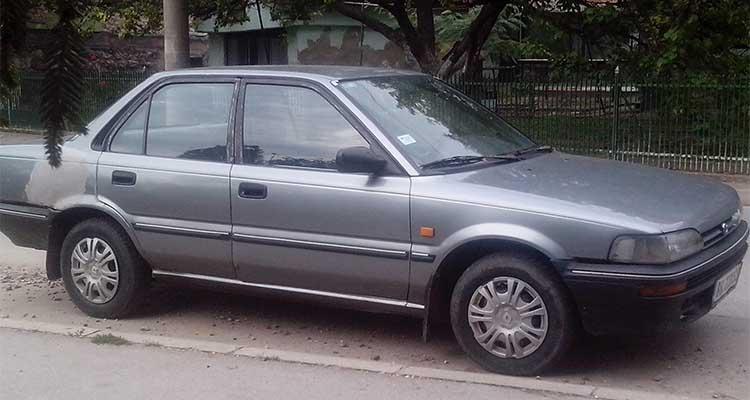 Toyota Corolla Xl 1990