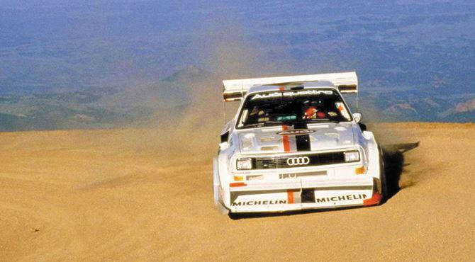 Audi reli trke šampionat 1987 5-cilindarski motor