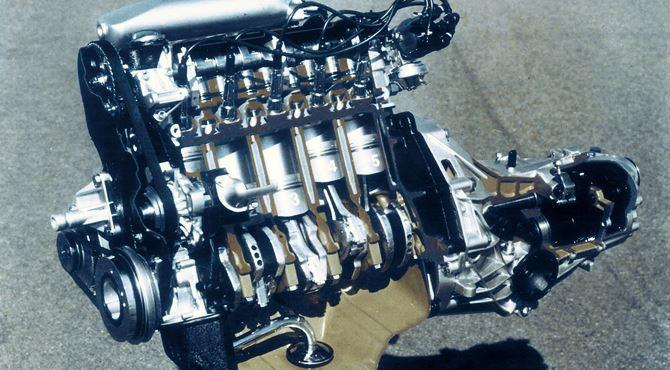 Motor sa 5 cilindara - audijev 5-cilindrični motor