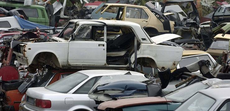 Otkup havarisanih auta za auto otpad