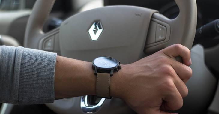 Renault logo na volanu
