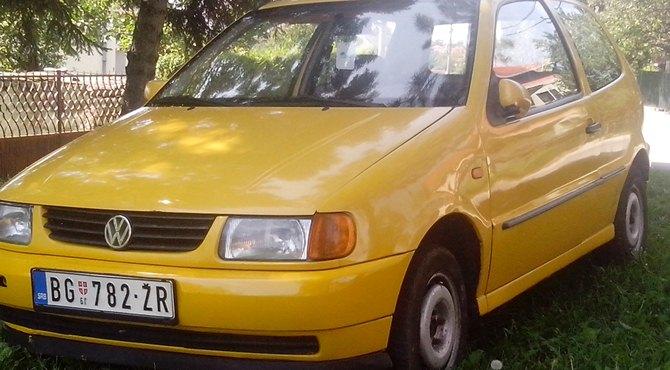 Polovni Volkswagen Polo 1.4 benzinac cena