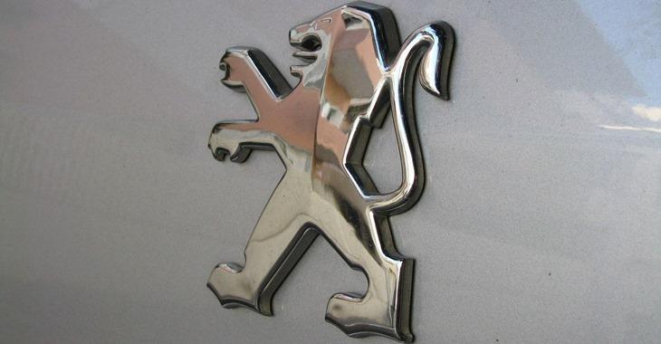 prikaz logoa automobila Peugeot